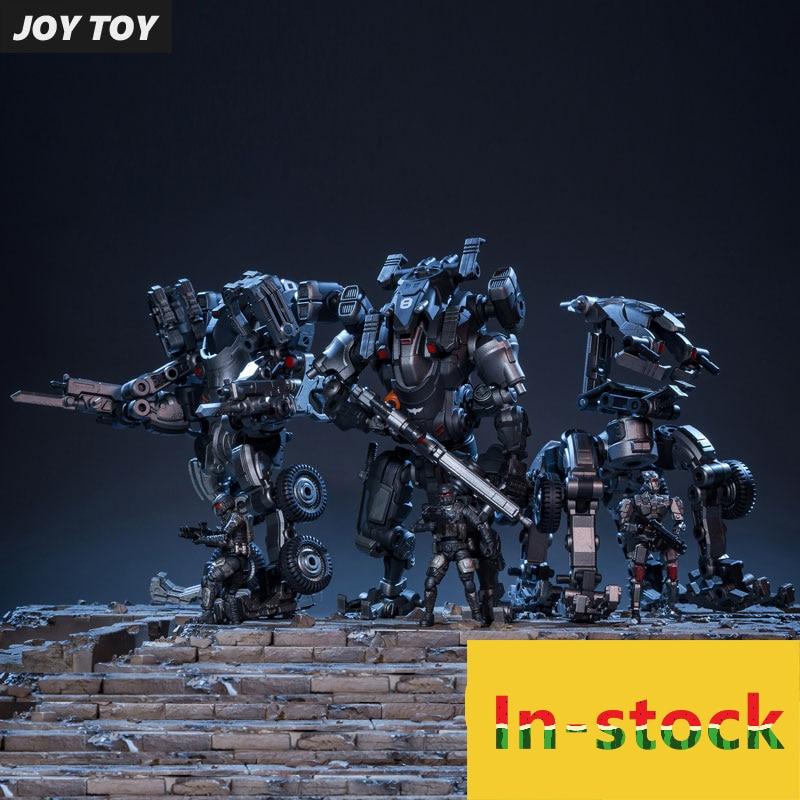 купить JOY TOY 1:25 action robot figures Mecha model TIEKUI Series TK02 Steel Grey-limited edition Free shipping RE029 по цене 7088.74 рублей