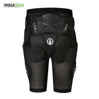 WOSAWE Sports Armor Protective Hip Skateboarding Shorts Motorcycle Skating & Snowboard Extreme Sports Hip Pad Protection