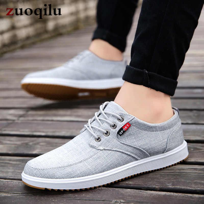 Men Casual Shoes 2020 Summer Canvas