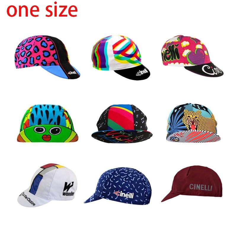 Nouveau CINELLI/LA VIE CLAIRE cyclisme casquettes hommes et femmes cyclisme coiffure taille unique respirant 9 style vêtements de vélo chapeaux cyclisme chapeaux