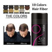 Queratina auténtica para pérdida de cabello, fibra de Construcción + aplicador en Spray con 12g, optimizador de línea capilar, crecimiento denso, pérdida de cabello en polvo TSLM2