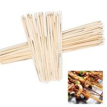 Hoomall 90 шт. коврики для барбекю и гриля бамбуковые шампуры для гриля Shish деревянные палочки инструменты для барбекю и барбекю одноразовые принадлежности для барбекю