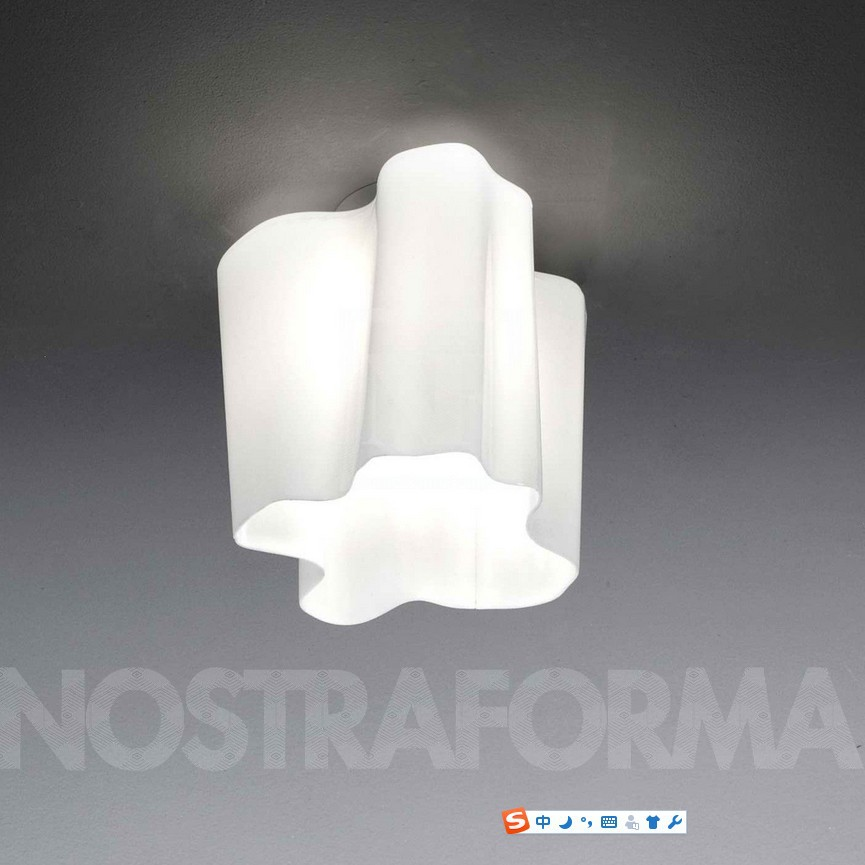 Logico Single Ceiling Light By Michele de Lucchi Lamp Micro Ligting