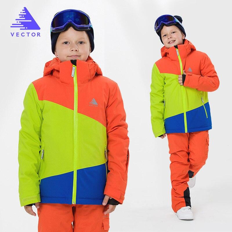 New Boys Girls Ski Suits Waterproof Windproof Snow Pants+jacket Set Of Winter Ski Sports Suit For Girls Clothes Set De Snowboard
