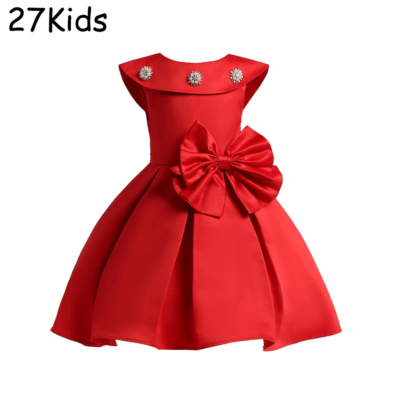 Kids Dresses For Girls 2018 New Girls Dresses For Party And Wedding High Quality 2-12 Years Children Dresses