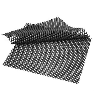 Image 1 - 2PCS 전화 카드를위한 고품질 차 대시 보드 우수한 연약한 매트 까만 PVC 거품 패드 유용한 ccessories 22*19cm