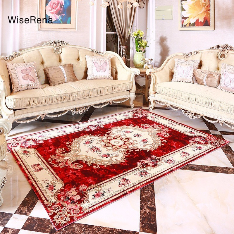 Mat For Home Parlor Bedroom Living Room 9 Dimensions: Europe Palace Style Carpet Parlor Living Room Large Size