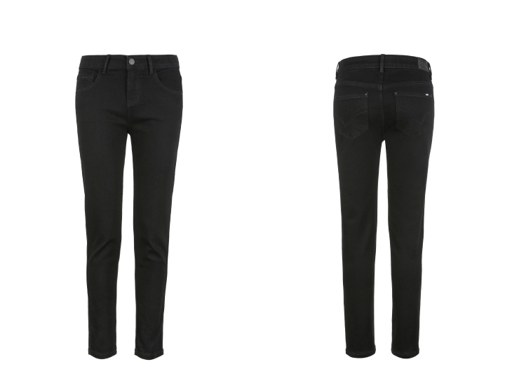 ONLY19 Women's autumn new low waist skinny cropped jeans | 118349574 23