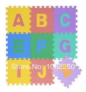 26 letters pack top quality baby eva play puzzle mats crawling mat child foam puzzle