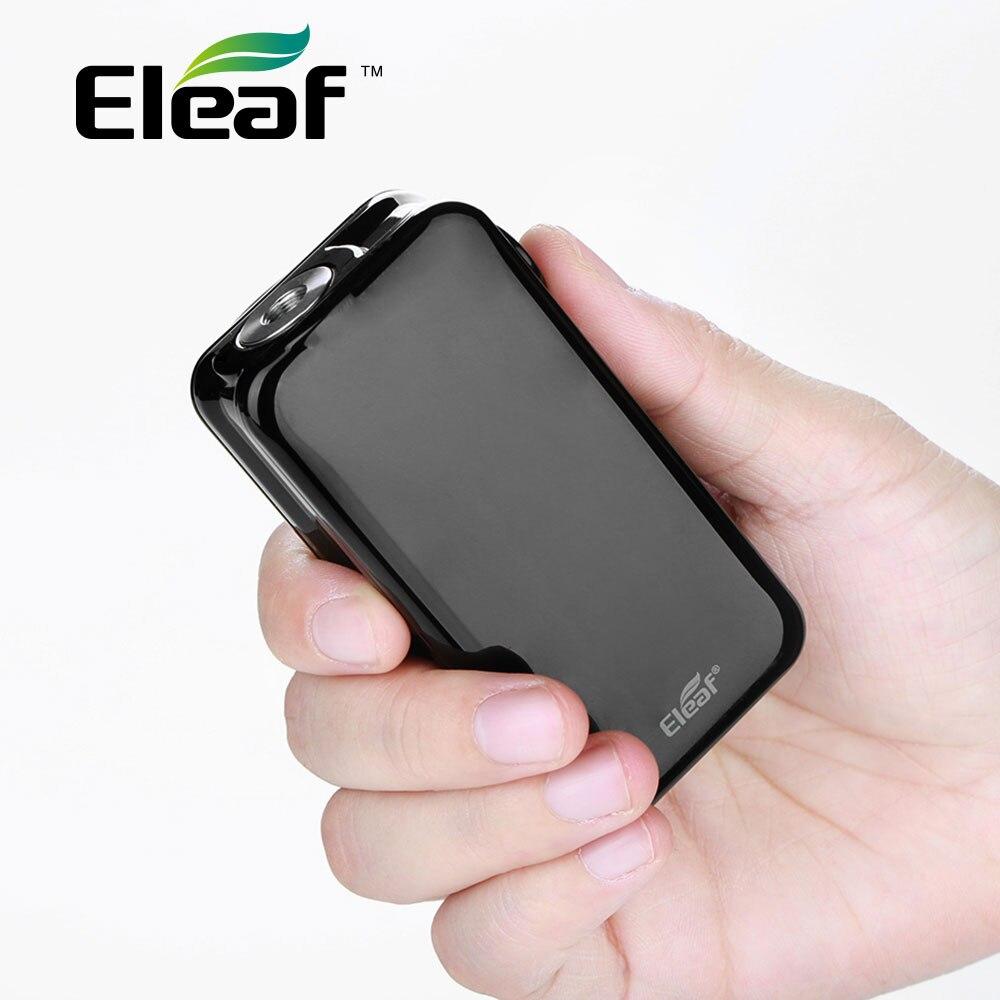 100% D'origine Eleaf iStick Nowos 80 W Max Sortie TC MOD 4400 mAh batterie intégrée avec Écran led Numérique et 3A charge rapide Vaporisateur