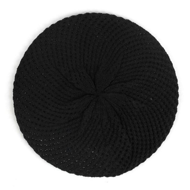 Women Double Layer Wool...