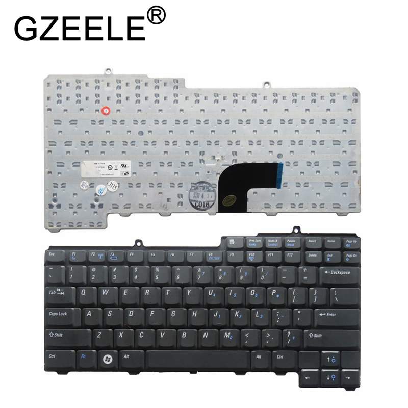 GZEELE New Keyboard For Dell Latitude D520 D530 D520N Series Laptop US Keyboard Replacement Teclado NSK-D5K01 PF236 9J.N6782.K01