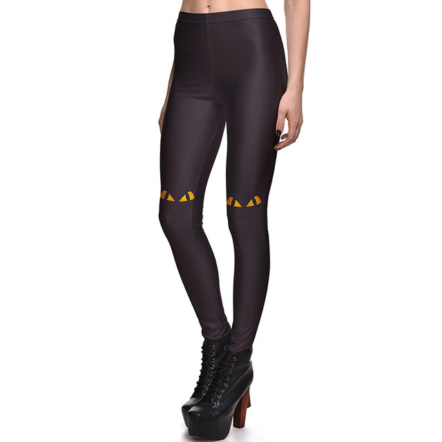04afacef8143cd New Arrival 3758 Sexy Girl Toothless Snake Drangon Eyes Printed Elastic  Fitness Polyester Workout Women Leggings Pants