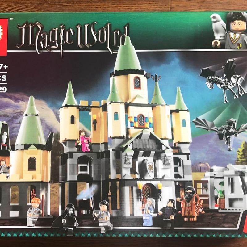 Harry 16029 Model building kit compatible with legoing 5378 Potter Bricks Magic Hogwort Castle 3D blocks model building toy china brand 16029 educational bricks toys diy building blocks compatible with lego hogwarts castle 5378