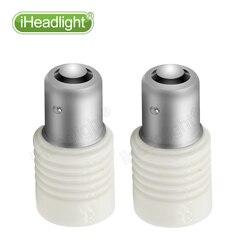 2x1156 3030 P21W 6leds blanc lumières 12 V 24 V 6 W puissance en céramique voiture frein arrière Parking ampoule côté clignotant