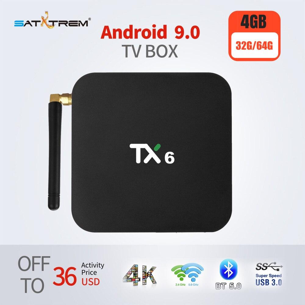 Tanix TX6 Smart TV Box Android 9 0 Support 4K Allwinner H6 4GB DDR3 32GB 64GB
