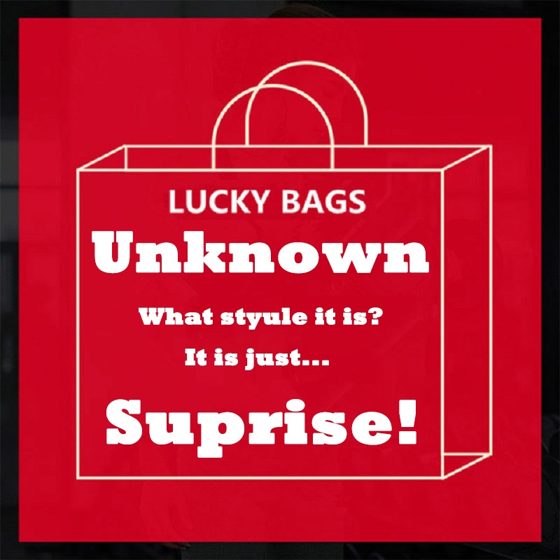 2018 fashion brand luck bag casual women's DIY printing T-shirt surprise T-shirt tops good price short-sleeved shirt LG WT01