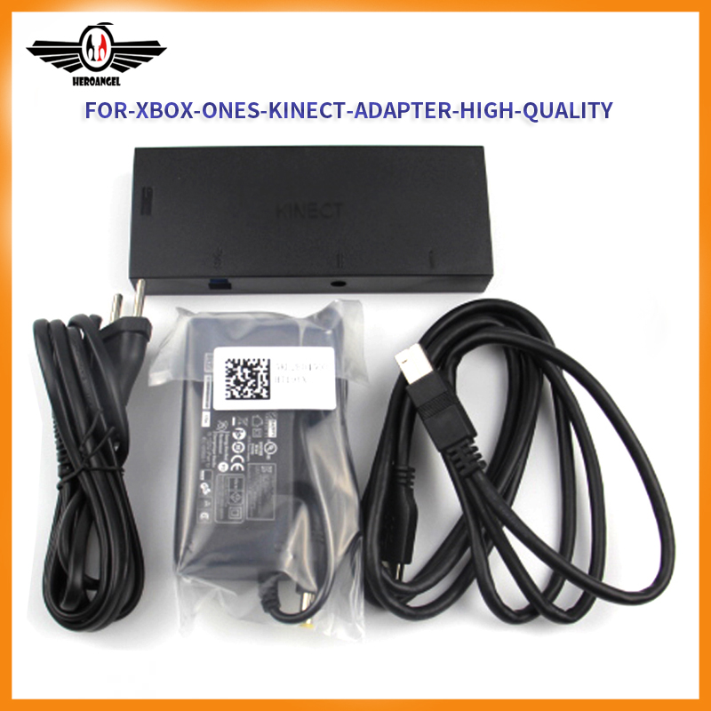 High Quality For Xbox One S Kinect Sensor With USB Kinect Adapter 2.0 3.0 For Xbox One Slim For Windows PC Kinect Adapter