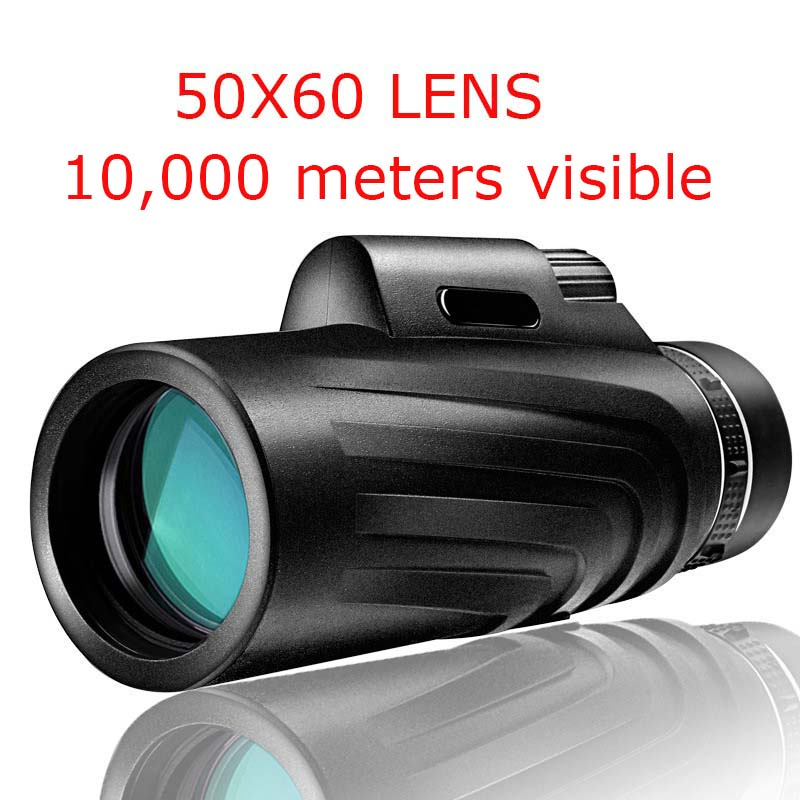 50X60 HD Zoom Lens Waterproof Monocular Telescope Zoom Lens For Smartphone Telefon Phone