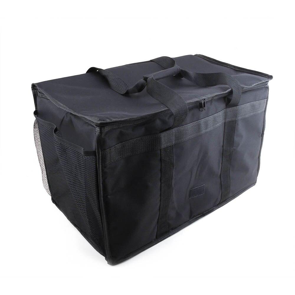 Купить с кэшбэком Cherrboll Reusable Grocery Shopping Box Bags Large Premium Handles & Reinforced Bottom Insulated Food Cooler Box Bags