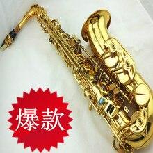 Greet alto  saxophone medianly e professional grade double bond abalone shell snap button