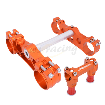 Motorcycle Triple Tree Clamp Steering Stem And Bar Mount For KTM SX/SXF/XCF/XCW/XCFW EXC/EXCF Husqvarna FC250 FC350 FC450