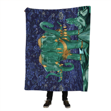 3d Elephant Throw Blanket Indian Bedclothes Sherpa Fleece Plush for Beds Animal Cobertor Para Inverno
