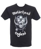 Summer 2018 New MOTORHEAD - ENGLAND - Official T-Shirt - Heavy Metal - New S M L XL Men's Shirts Men Clothes Novelty Cool