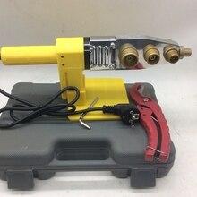 Полностью автоматический нагревательный PPR сварочный аппарат для труб, пластиковый сварочный аппарат переменного тока 220 в 600 Вт, 16-32 мм сварочный пластик