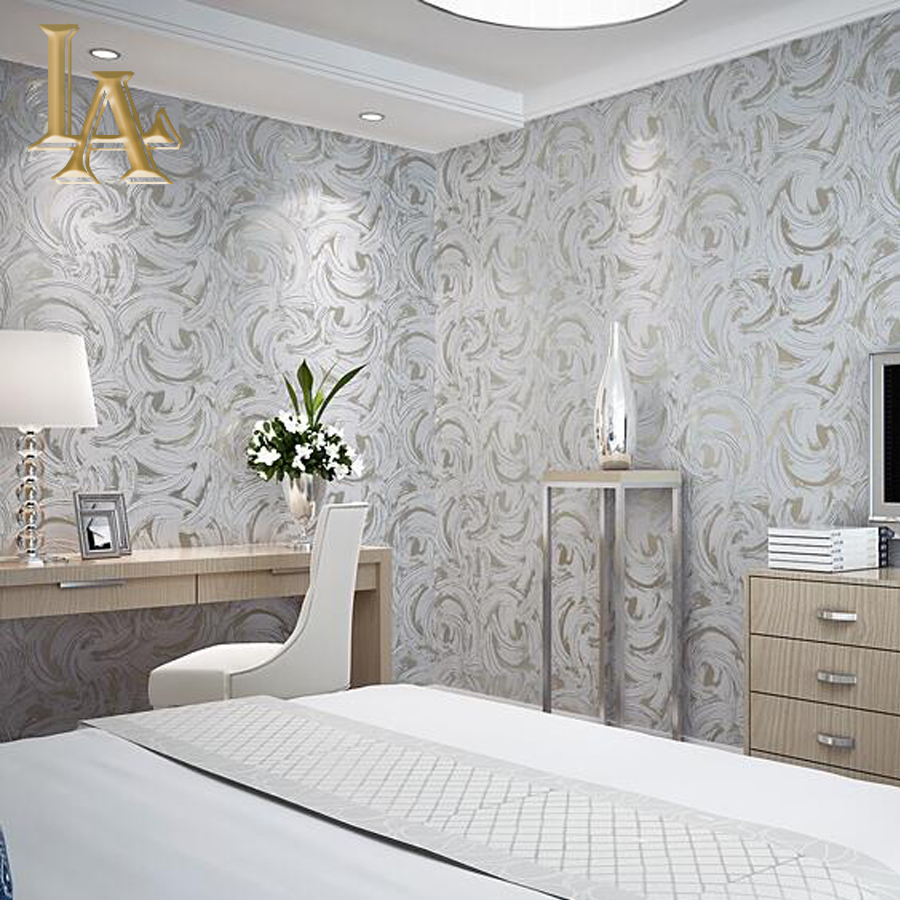 Wallpaper For Bedroom Aliexpresscom Buy Geometric Abstract Graffiti Glitter Wallpaper