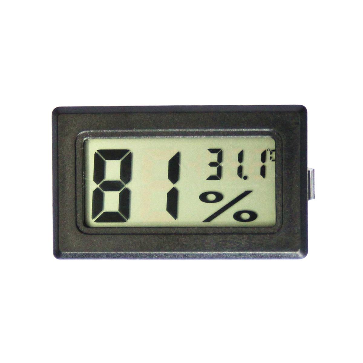 MOSEKO karstā pārdošana Mini digitālā LCD iekštelpās ērta temperatūras sensora mitruma mērītāja termometra higrometra mērītājs