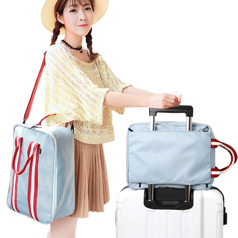 Koreja Stil Vodootporne Moda Žene Čuvanje prtljage Poslovne putne - Torbe za prtljagu i putovanje - Foto 2
