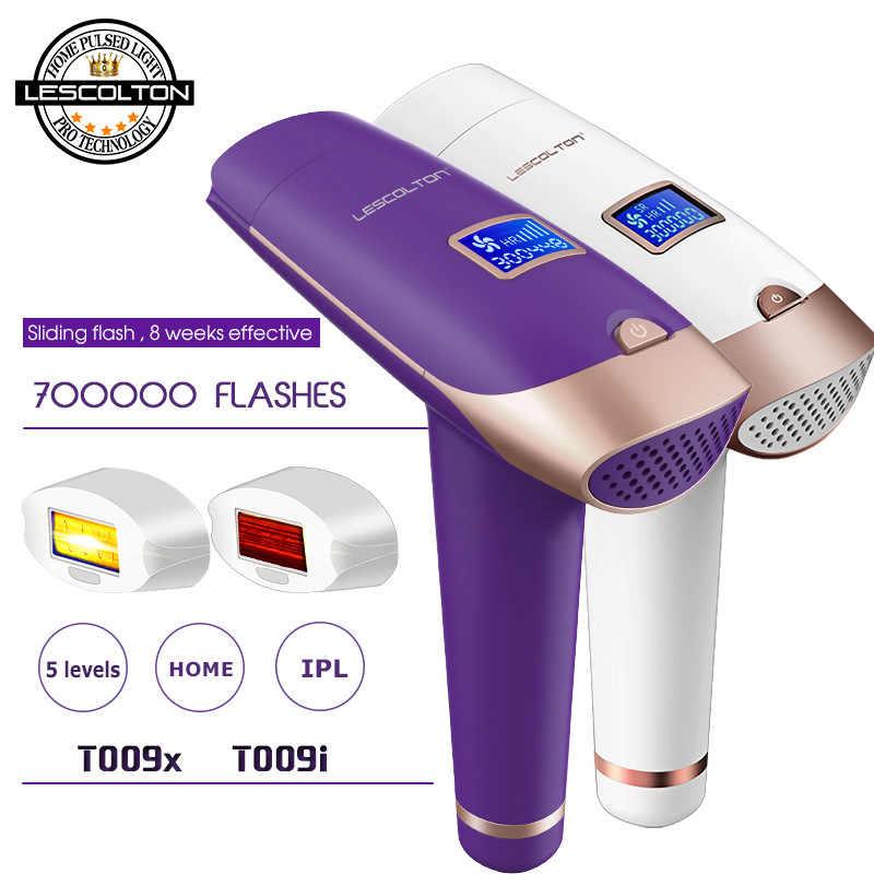 100% Asli 3in1 Lescolton IPL Laser Hair Removal Permanen Hair Removal Ipl Laser Epilator Penghilang Bulu Ketiak Mesin