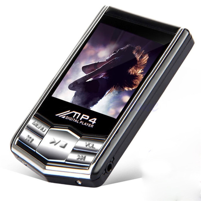 Best Price 4GB Slim MP4 Music Player With 1.8 inch LCD Screen FM Radio Video Games & Movie