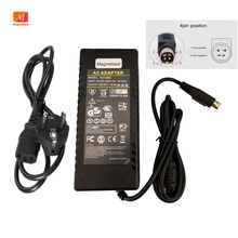 12V 8A LCD TV Monitor Flat Panel TV DVR Power Adaptor 12v 8.5a 4pin Adapter VCR Adapter 4 Pin Switching Power Supply Charger