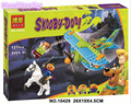 Bela 10429 Scooby Doo Momia Museo Misterioso Avión Mini Módulo figura Juguetes P031