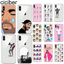 ciciber For Iphone 7 8 6 6S Plus X XR XS MAX 5S SE Soft Silicone for iphone 11 Pro Max Phone Case Funny Drake Poor Crying Coque pro poor tourism in alexandra since 1994