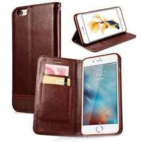 For IPhone 5 5s SE Case Luxury Magnetic Flip Wallet PU Leather Phone Cases Cover With