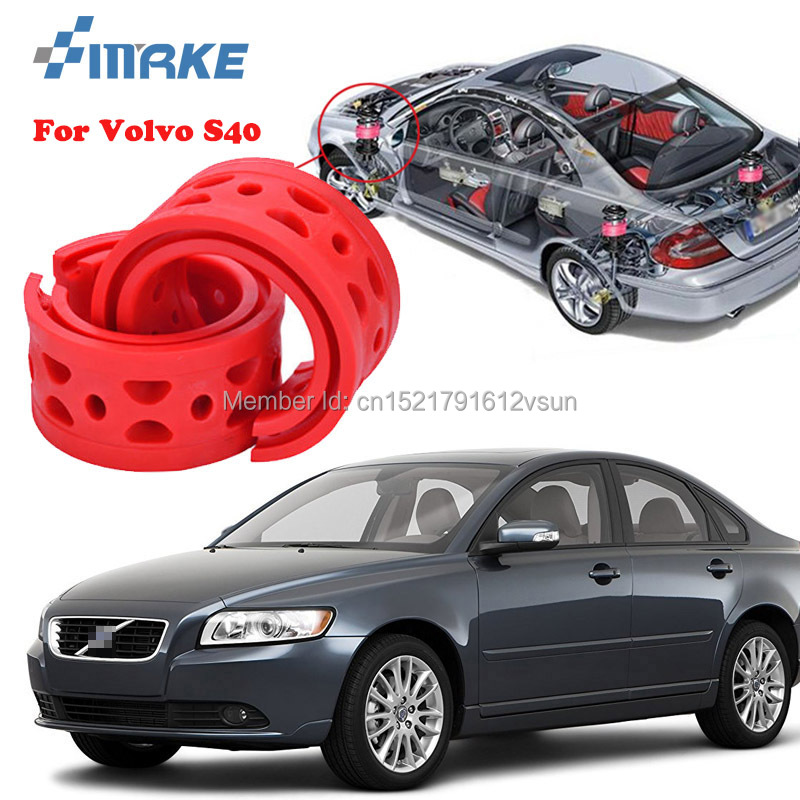 smRKE For Volvo S40 High-quality Front /Rear Car Auto Shock Absorber Spring Bumper Power Cushion Buffer