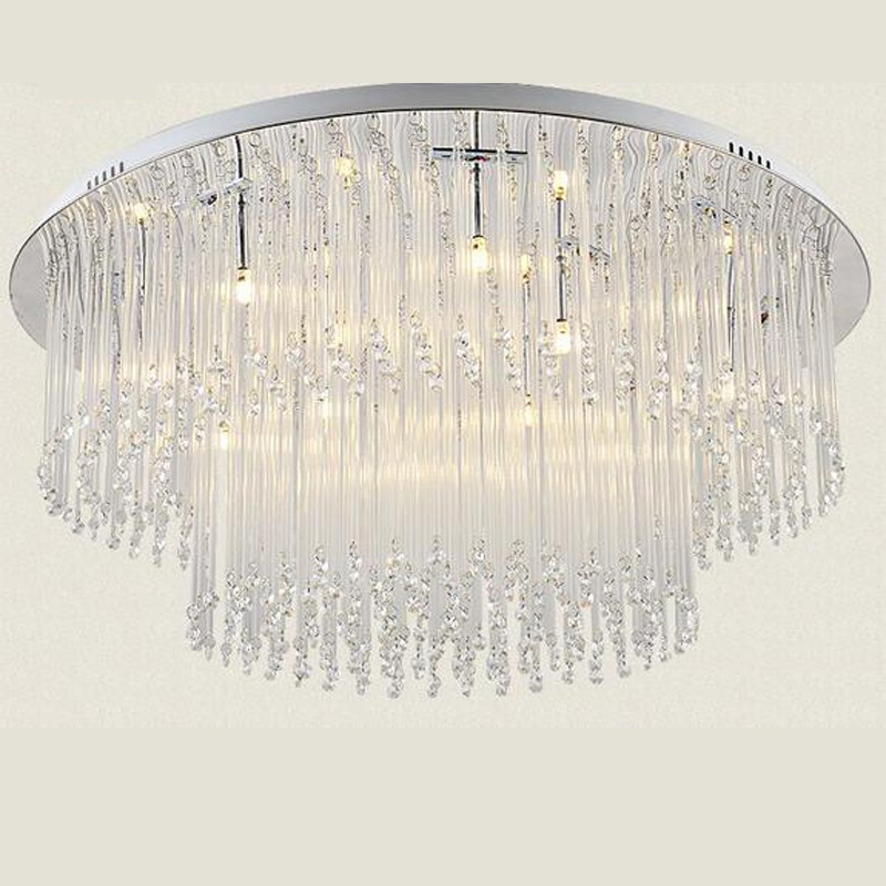 Plafoniere Moderne Per Soggiorno. Gallery Of Maxi Plafoniera Led ...