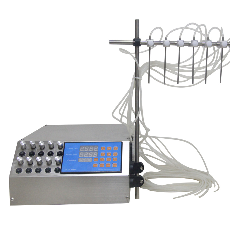 Sinparto Peristaltic Pump Water Filling Machine Liquid Filler 0.2-70ml/min Lab Dosing Pump Peristaltic Pump Perfume Filler