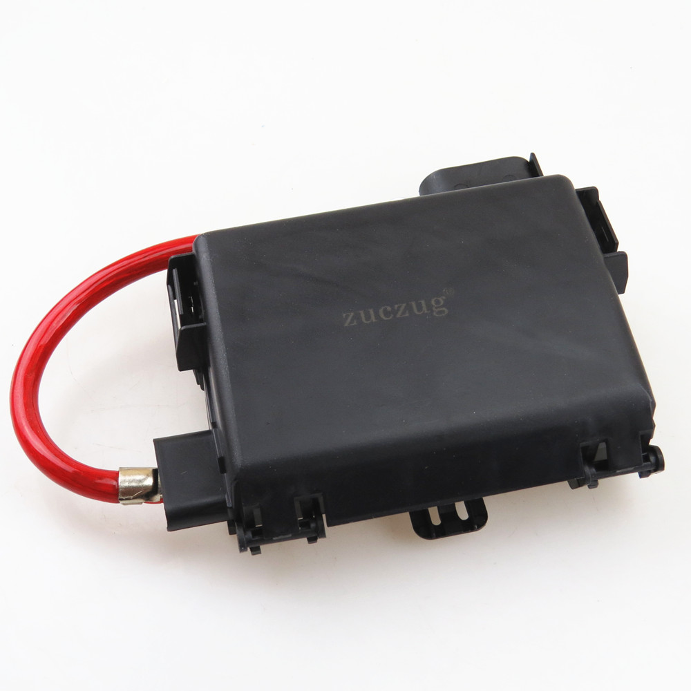 ZUCZUG Car Battery Fuse Box Assembly Plug Cable Wire For A3 S3 VW Beetle Bora Golf zuczug car battery fuse box assembly plug cable wire for a3 s3 car battery fuse blown symptoms at bayanpartner.co