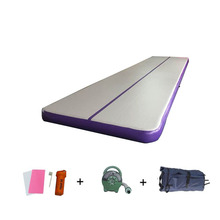 4mx1mx10cm Air Track Tumbling Mat for Gymnastics Inflatable Airtrack Floor Mats with Electric Air Pump for Home Use Training недорого