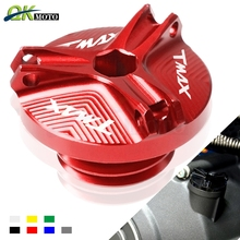 цена на Motorcycle Accessories parts Engine Oil Drain Plug Sump Nut Cup Plug Cover For yamaha T-MAX TMAX T MAX 500 530 T-MAX500 TMAX530