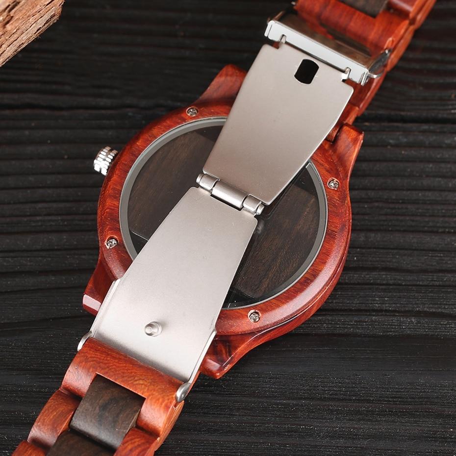 Top Luxury Full Bamboo Wood Quartz Watch Mens Hollow Analog Handmade Bracelet Sports Wristwatch Male Simple reloj de hombre 2017 2018 Gifts (12)