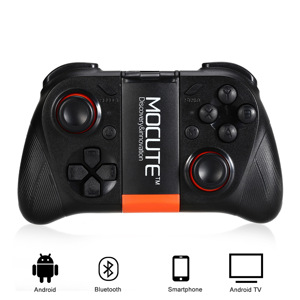 MOCUTE 050 Wireless Gamepad Bluetooth Controller Android Joystick Mini Tragbare Gamepad Für PC Smartphone TV BOX + Halter