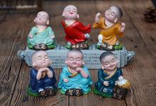 2019 new monk pottery dolls boys toys Chinese traditional Dolls best gifts for friends cute mini Featured buddha Dolls kids 32cm traditional chinese queen dolls pretty girl bjd dolls movies