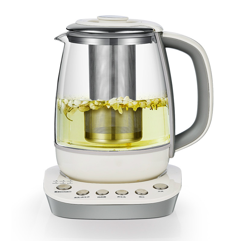 Electric kettle Multifunctional automatic thickening glass curing pot black tea of boiled machine electric bird's nest w curing pot tisanes of the multifunctional automatic thickening glass boiled tea electric cooking pot electric water ket