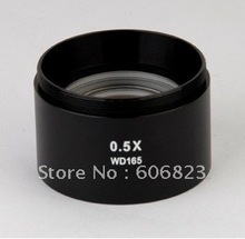 Brand New 0.5X Barlow AUX Objective Lens For Stereo Microscope! free shipping