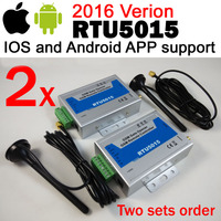 شحن مجاني جديد نسخة ios و الروبوت app gsm بوابة باب فتاحة المشغل مع sms التحكم عن رباعية النطاق مصممة RTU5015 app